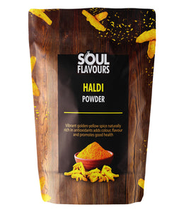 SOUL FLAVOURS HALDI POWDER (Pack of 3 X 100G)