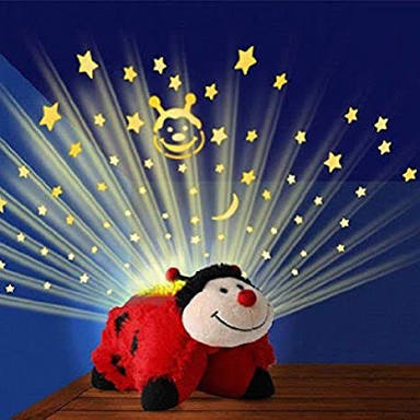 Ideal Home Dream Lites Pillow Pets (Lady Bug) with Music