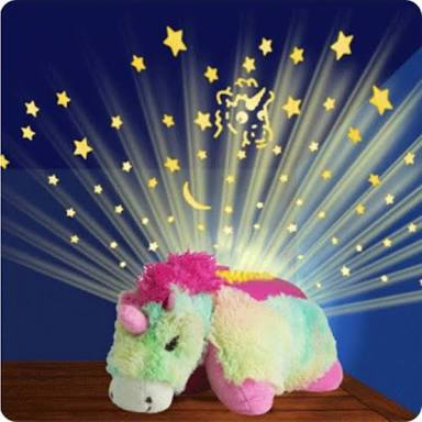 Ideal Home Dream Lites Pillow Pets (UNICORN) with Music