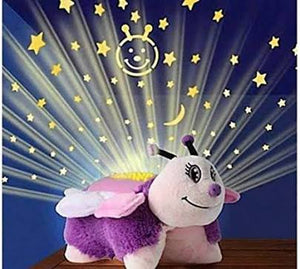 Ideal Home Dream Lites Pillow Pets (FLUTTERY BUTTERFLY) with Music