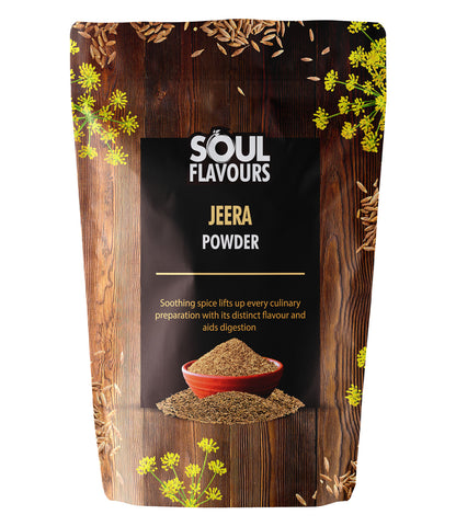 SOUL FLAVOURS JEERA POWDER (Pack of 2 X 100G)