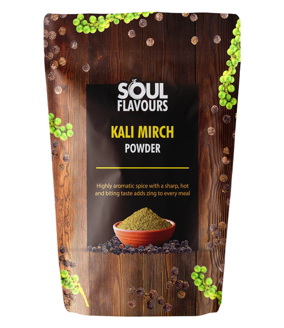 SOUL FLAVOURS KALI MIRCH POWDER (Pack of 2 X100G)