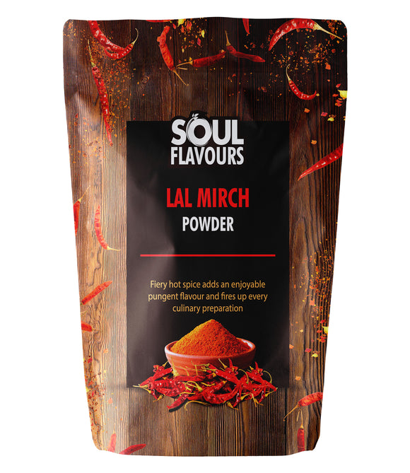SOUL FLAVOURS LAL MIRCH POWDER (Pack of 3 X 100G)