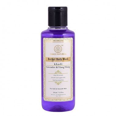 KHADI NATURAL - AYURVEDIC LAVENDER & YLANG YLANG BODY WASH - Worldshopon.com