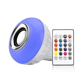 Led Bulb with Bluetooth Speaker Music Light Bulb