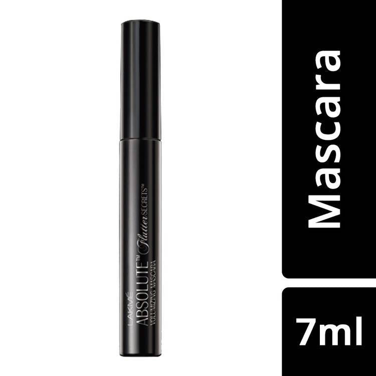 Lakme Absolute Flutter Secrets Volumizing Mascara Black (7.5 ml)