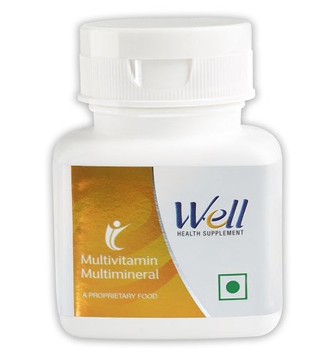 WELL MULTIVITAMIN MULTIMINERAL (30 TABLETS) - Worldshopon.com