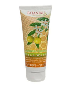 PATANJALI Lemon Honey Face Wash - Worldshopon.com