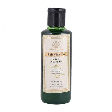 KHADI NATURAL - AYURVEDIC NEEM SAT HAIR CLEANSER - Worldshopon.com