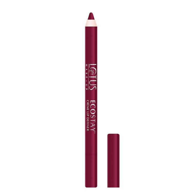 Lotus Makeup Ecostay Creme Lip Definer Wild Berry LD-4 (1.2 g) - Worldshopon.com