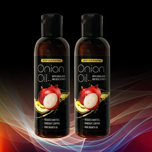 Hair Growth Onion Oil - ( Pack Of 2) - Worldshopon.com