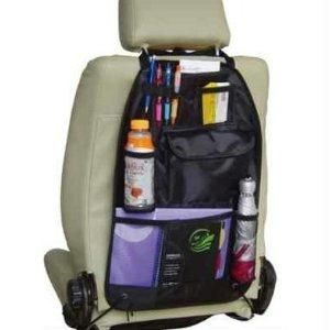 CAR SEAT ORGANIZER - BLACK
