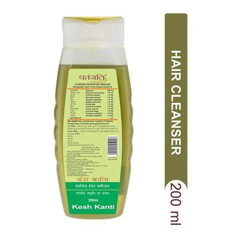 PATANJALI Kesh Kanti Hair Cleanser - Aloevera 200 ml - Worldshopon.com
