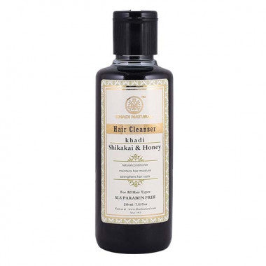 KHADI NATURAL - AYURVEDIC SHIKAKAI HONEY HAIR CLEANSER SLS & PARABEN FREE - Worldshopon.com