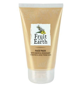Fote Face Pack With Neem & Rosemary (Sensitive & Acne Prone Skin) 100 Ml - Worldshopon.com