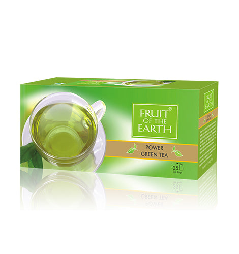 FRUIT OF THE EARTH POWER GREEN TEA (25X2 G)