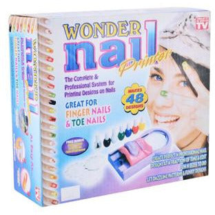 Ideal Home WONDER NAIL PRINTER - Worldshopon.com