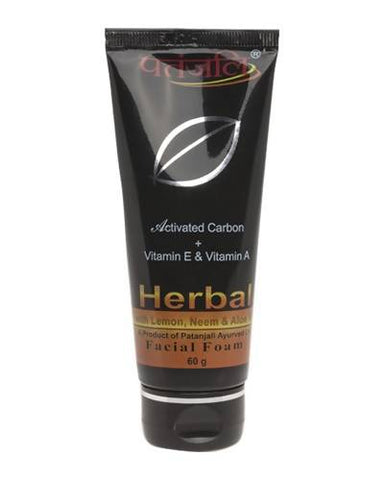 PATANJALI Activated Carbon Facial Foam - Worldshopon.com