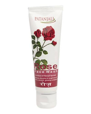 PATANJALI Rose Face Wash - Worldshopon.com