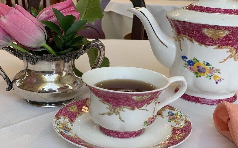 2019 Afternoon Tea Service at The Denver Tea Room