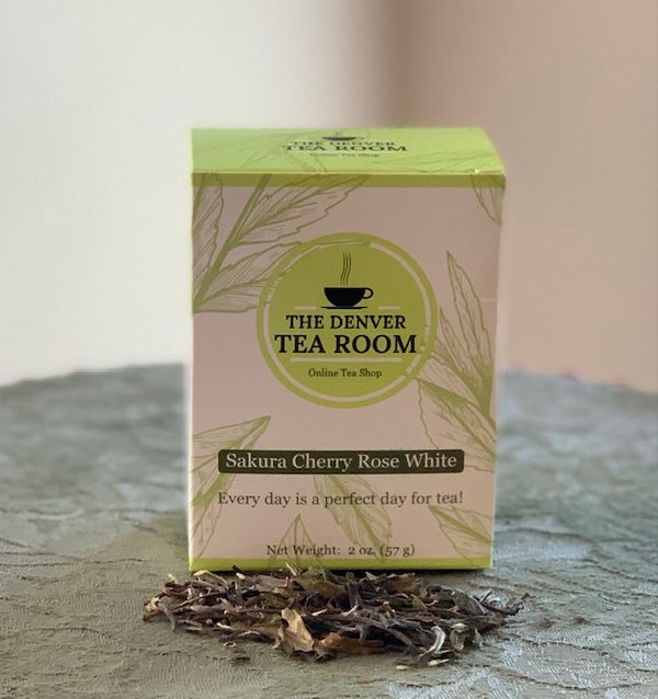 Sakura Cherry Rose White Tea