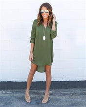 Casual Loose Dress Long Sleeve
