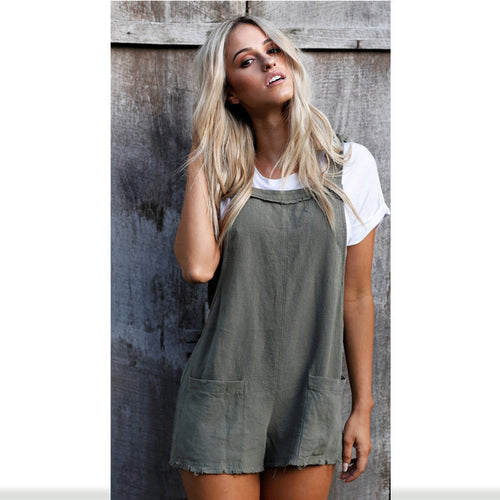 Loose Overalls Dungaree
