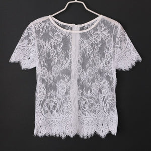 Top Lace with Zipper