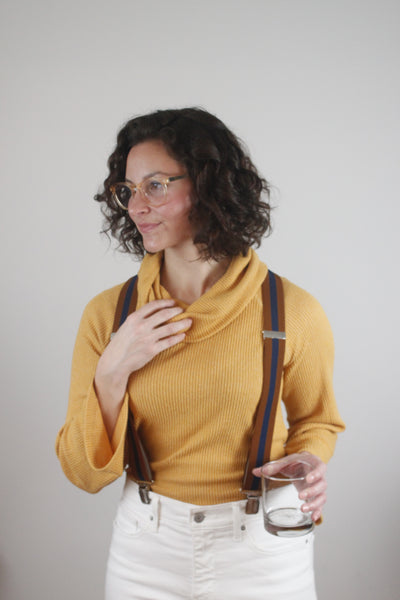 History of Suspenders to modern luxury fashion mens womens