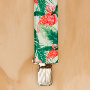 Flamingo Suspenders