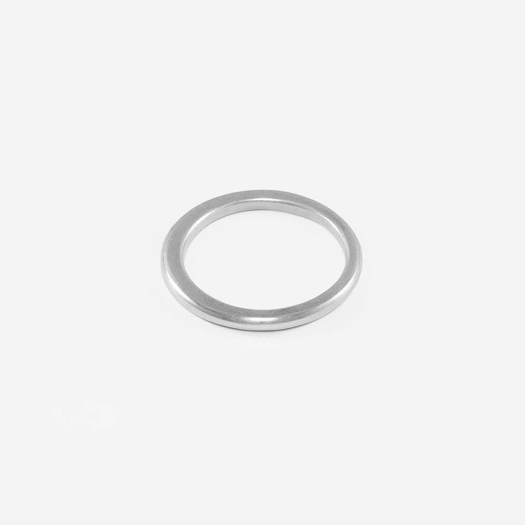 Thin Saucer Ring