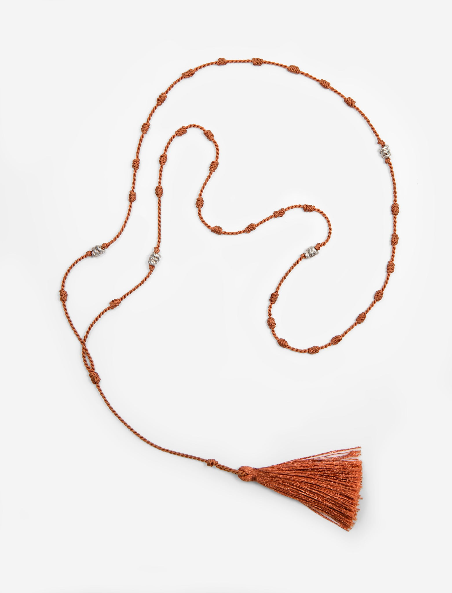 Silk Bede Necklace