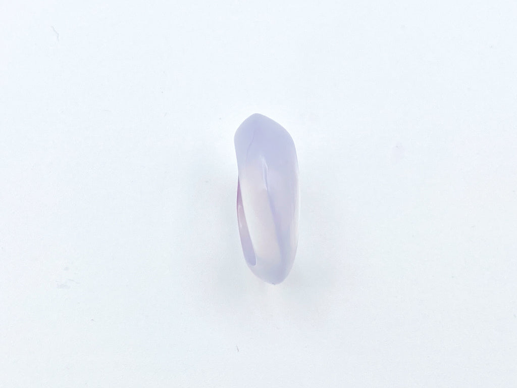 Blue Chalcedony Wave Ring