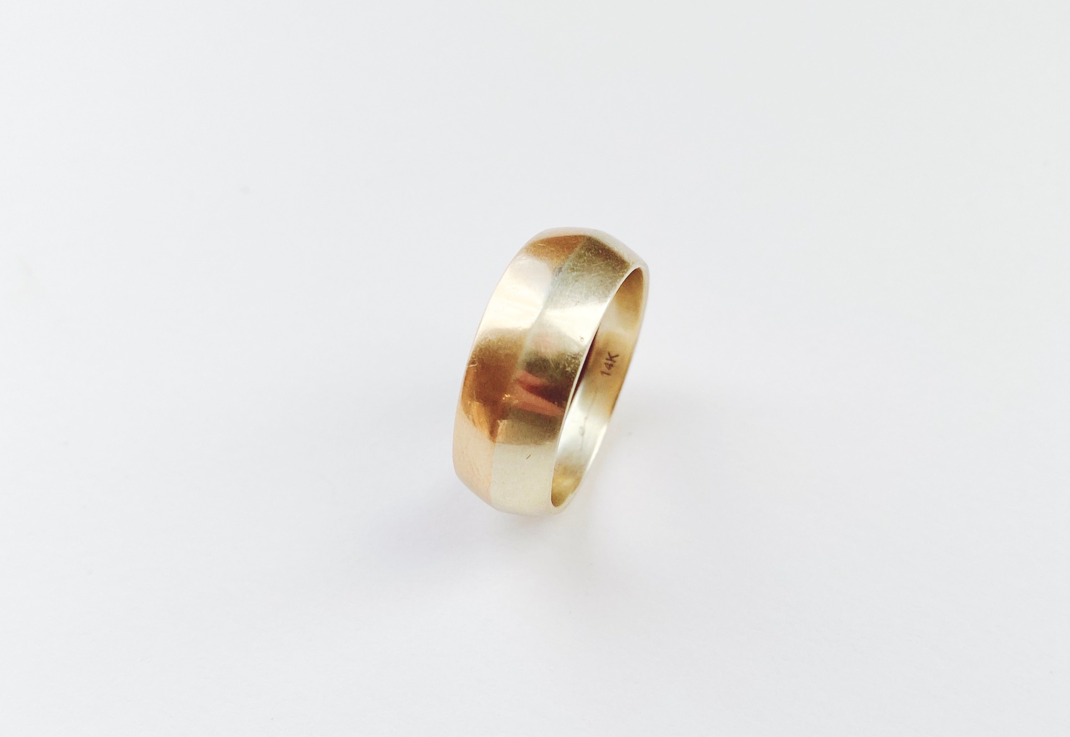 Bi Metal Ring : Dome I