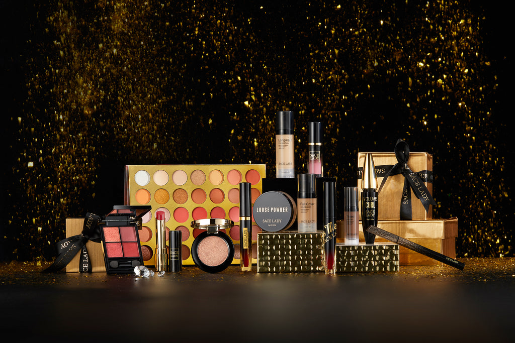 New line of SACELADY Cosmetics make makeup fun with Black Gold Series