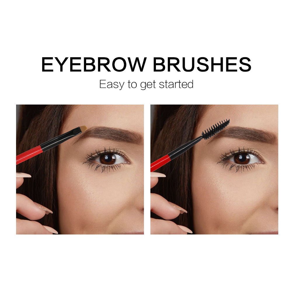 Double End Brush Brow Comb Makeup Brushes Tool