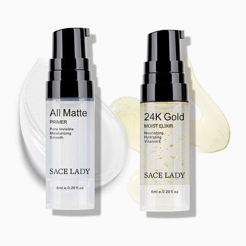 Face Base Primer Liquid Matte Oil MakeUp Set