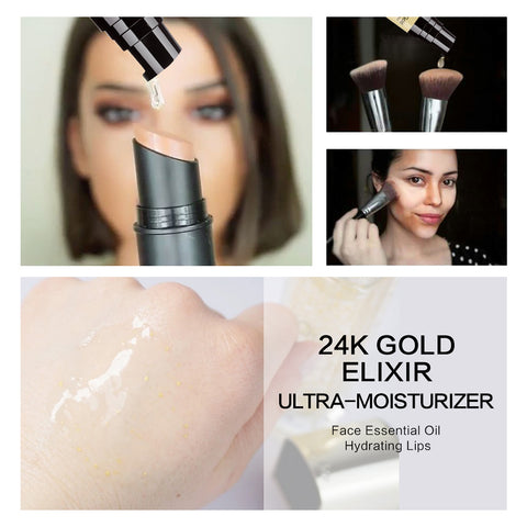 24k Gold Makeup Foundation Primer