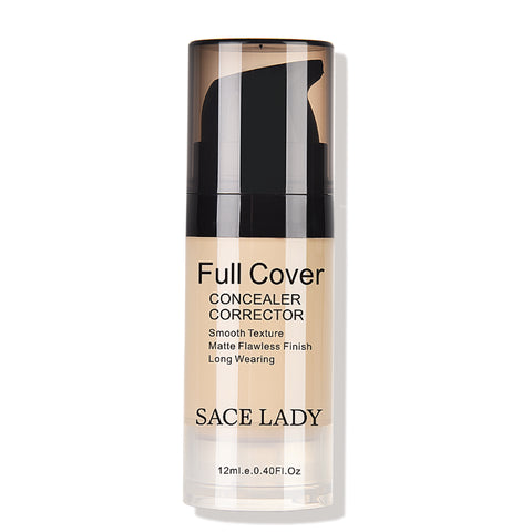 Full Cover Waterproof Liquid Face Concealer