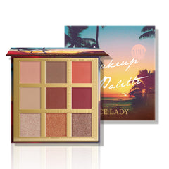Sunset Beach Eyeshadow Makeup Palette