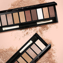 3 Colors Black Gold Perfect Eyeshadow Palette