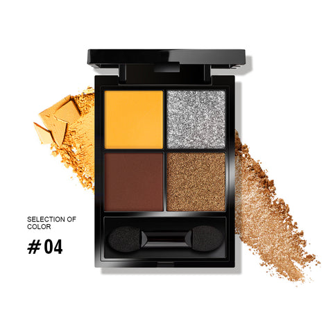 Black Gold Magic 4 Colors Eyeshadow Palette