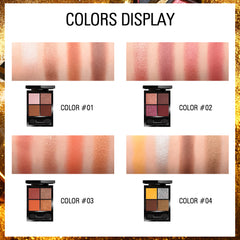Magic 4 Colors Eyeshadow Palette