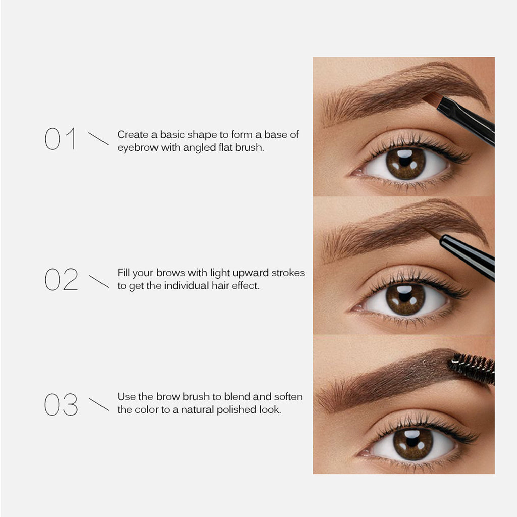Tinted Eyebrow Gel Long Lasting Waterproof Brow Makeup