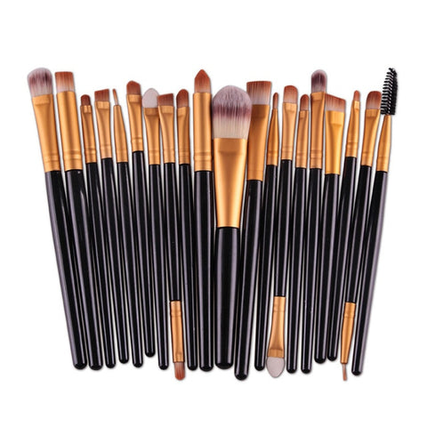 SACE LADY Make up Brushes Set 20Pcs Foundation Eyebrow Brush Kit Eyeshadow Eyeliner Powder Makeup Tool Eyelash Lip Cosmetic