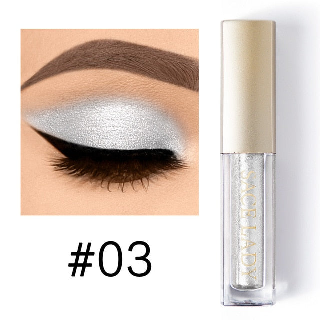 SACE LADY  Liquid Shimmer Eye Shadow Metals Illuminator Glow Kit