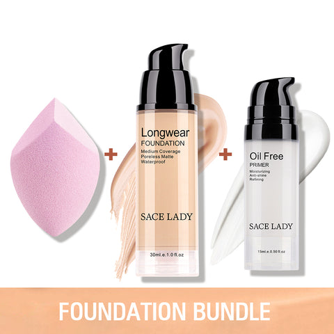Matte Foundation Primer Set