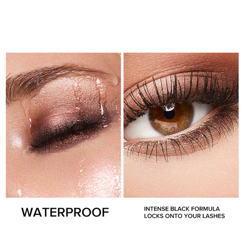 Waterproof Mascara Black Gold Series