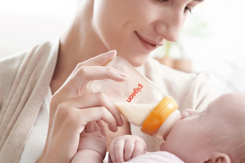 Breastfeeding to Bottle