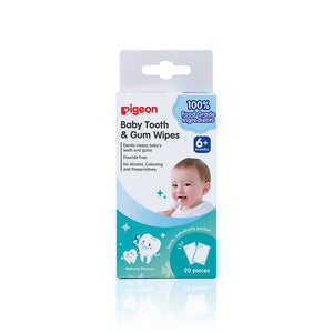 baby tooth and gum wipes 20 pack